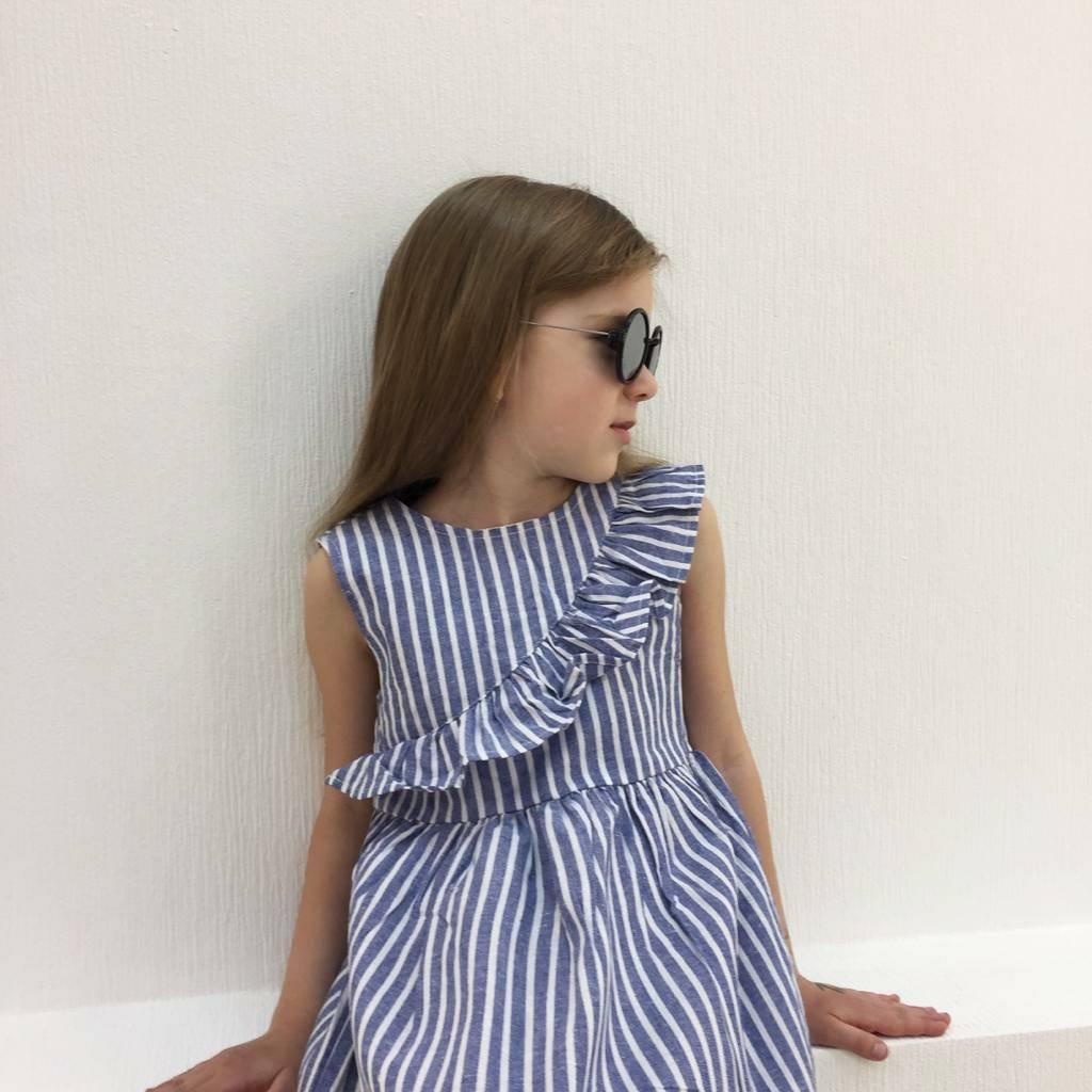 Платье Для Девочки В Полоску Фото