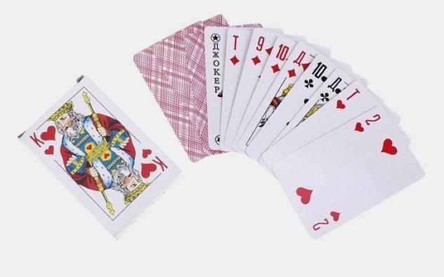Как играть в карты из 54 карт как играть в корову на картах