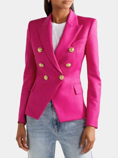 Пиджак женский с железными пуговицами сколько купить ткани на постельное белье при ширине 220