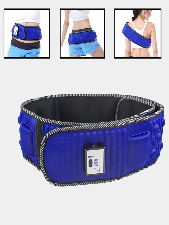 Вибрационный пояс массажер женские бои в нижнем белье без правил