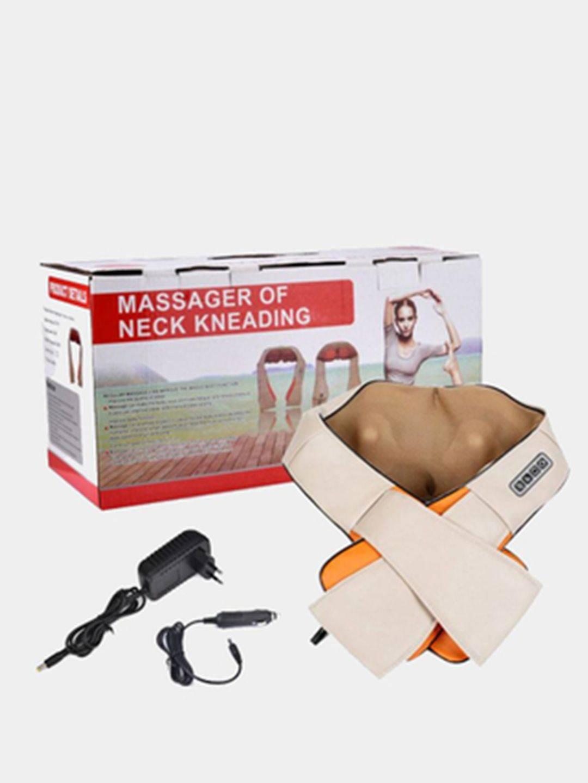 Массажер neck kneading подушка массажер amg392
