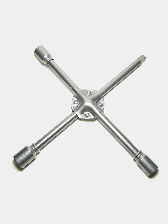 """Ключ балонный X-образный (баллонный) крестовой усиленный (диаметр 16 мм) 17, 19, 21, 1/2"""" за 457 ₽ с бесплатной доставкой за 1 день купить на KazanExpress"""