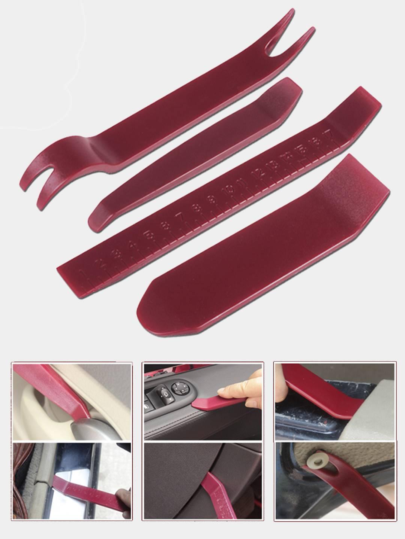 Усиленные пластиковые лопатки - съемники для снятия клипс обшивки автомобильный за 194 ₽ с бесплатной доставкой за 1 день купить на KazanExpress
